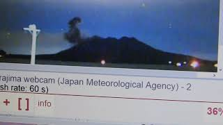 EXCLUSIVE SAKURAJIMA: JAPANESE VOLCANO ERUPTED