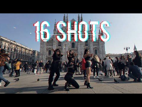 [KPOP IN PUBLIC IN ITALY] M2B - BLACKPINK (블랙핑크) _ 16 SHOTS Dance Cover