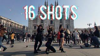 Download lagu [KPOP IN PUBLIC IN ITALY] STEFFLON DON _ 16 SHOTS (BLACKPINK CHOREO) Dance Cover - M2B
