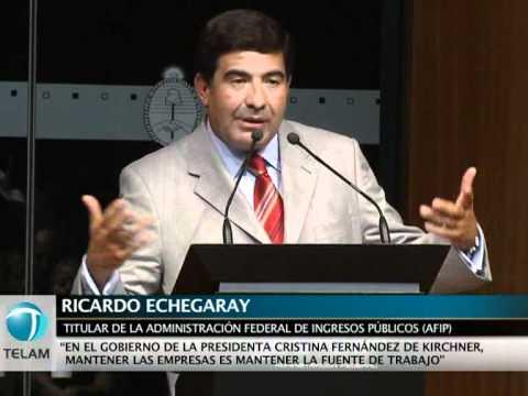 """Echegaray: """"Boudou no pidió el levantamiento de la quiebra de Ciccone"""""""
