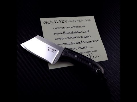 Eric Bonner Pocket Butcher - I'll never need another fixed blade EDC