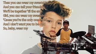 Jacob Sartorius - Sweatshirt (Karaoke Drum Cover by Timothy Liem) (with lyrics)
