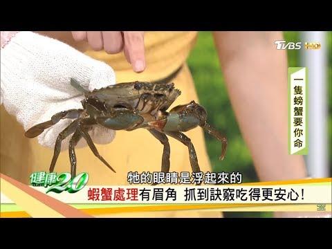 超簡單!達人教你「蝦蟹處理訣竅」不割手更好吃!健康2.0