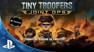 Tiny Troopers Joint Ops -- Features Trailer | PS4, PS3, PS Vita