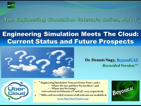 Engineering Simulation Meets the Cloud