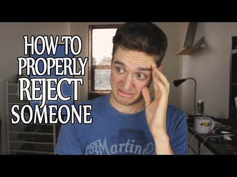 how to reject someone nicely online dating