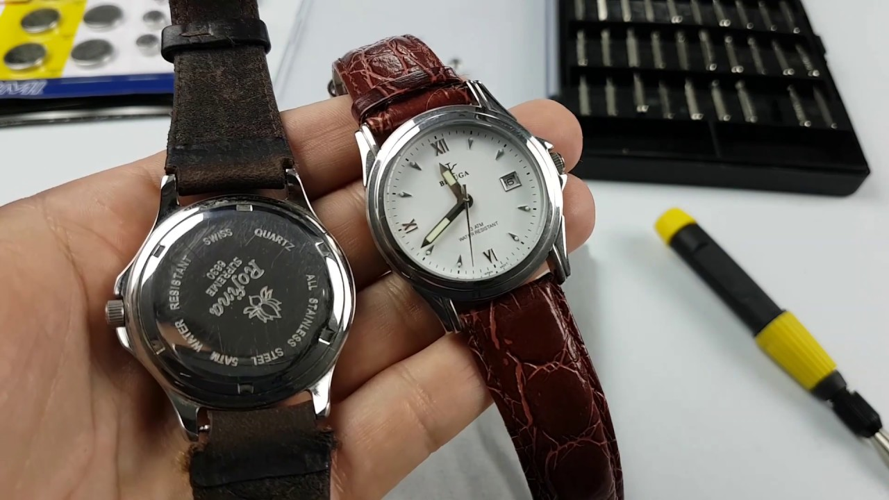 najlepsza wartość kup dobrze gdzie kupić Battery Replacement watch with screw-off caps GUIDE PL