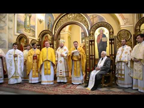 Привітання о. Доротея Шимчія ЧСВВ із100-літнім ювілеєм— 20.09.2015