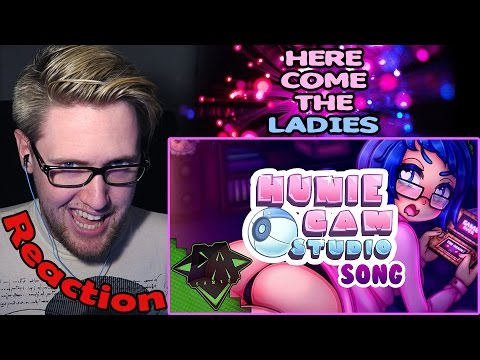 HUNIECAM STUDIO Song (Here Come The Ladies) REACTION! | SEXY! |