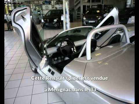 renault spider occasion visible merignac pr sent e par renault cap services youtube. Black Bedroom Furniture Sets. Home Design Ideas