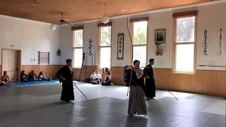 Kyudo demonstration at the Santa Cruz Japanese Cultural Fair