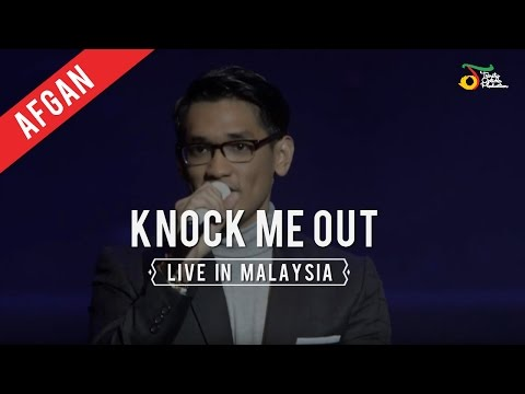 Afgan - Knock Me Out | Live in Malaysia