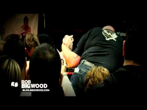 Rob Bigwood  -- Vegan Pro Arm Wrestler