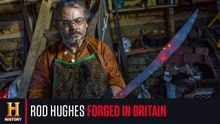 Rod Hughes makes ancient blades in his Viking forge | Forged In Britain | Forged in Fire