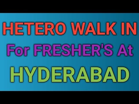Hetero Drugs Limited Walk In Interviews For Pharma Freshers In Hyderabad || Pharma Guide