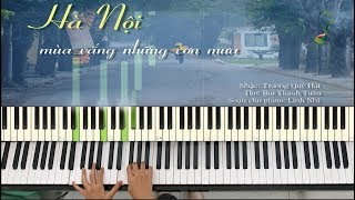 ĐỘC TẤU PIANO | Hà Nội Mùa Vắng Những Cơn Mưa | Linh Nhi