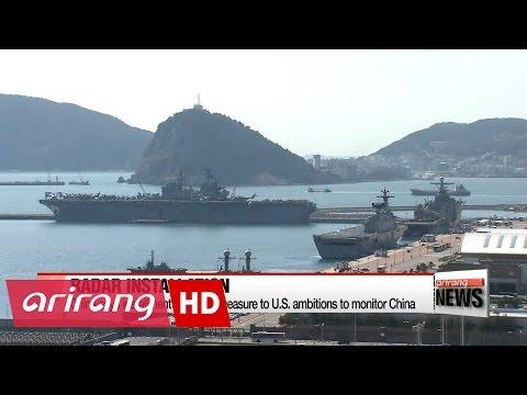China installs radar that can monitor S. Korea, Japan and Western Pacific: media