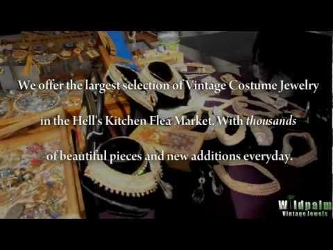 Wildpalm Vintage Jewels at Hell's Kitchen Flea Market April 2012