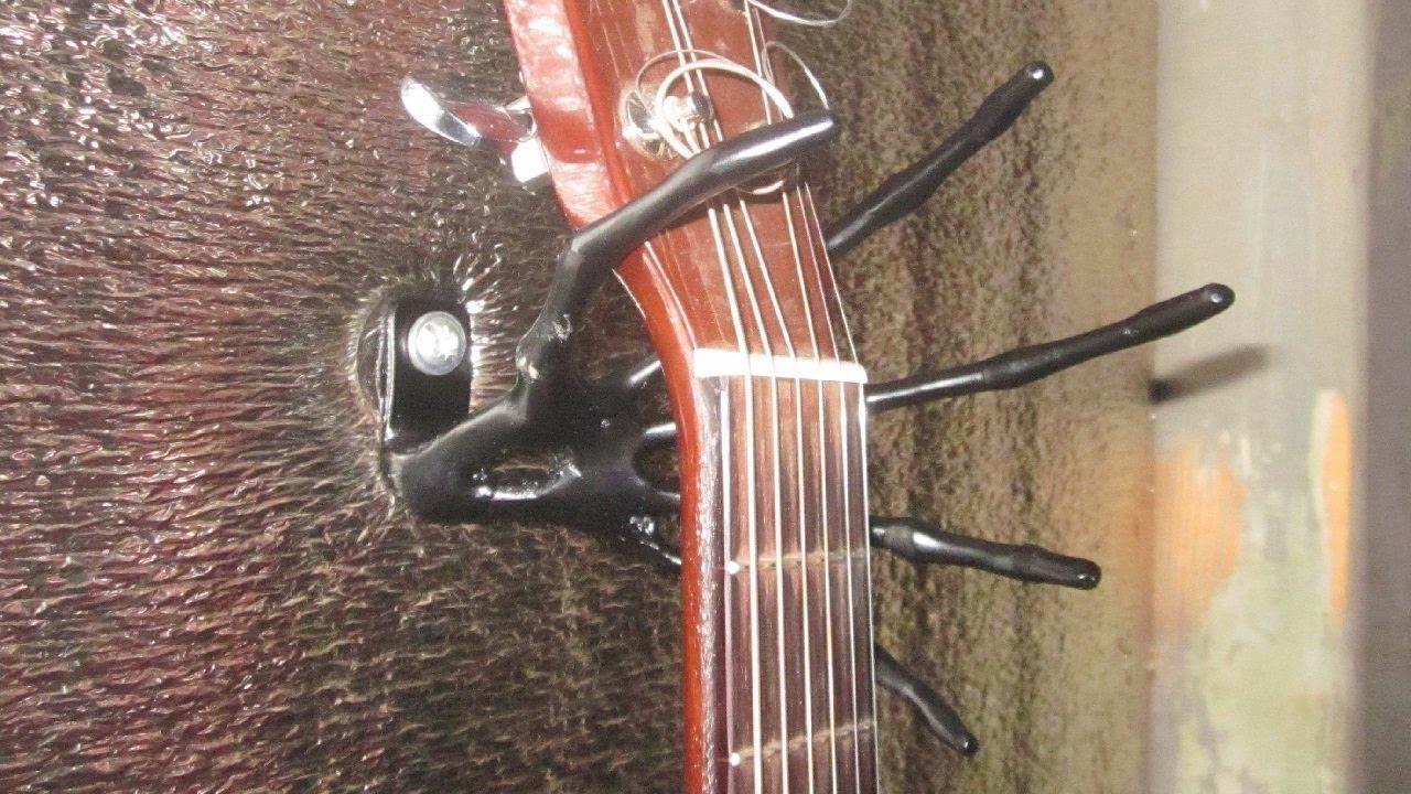 Крепление для гитары своими руками