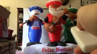 Gemmy Inflatable Christmas Mariachi Band