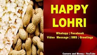 Happy Lohri Greetings, SMS, Message, Whatsapp Download, Video English