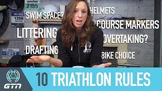 10 Rules You Need To Know Before You First Triathlon | Race Tips For Beginners