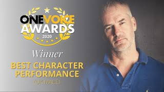 Best Character Performance 2020 • UK Male