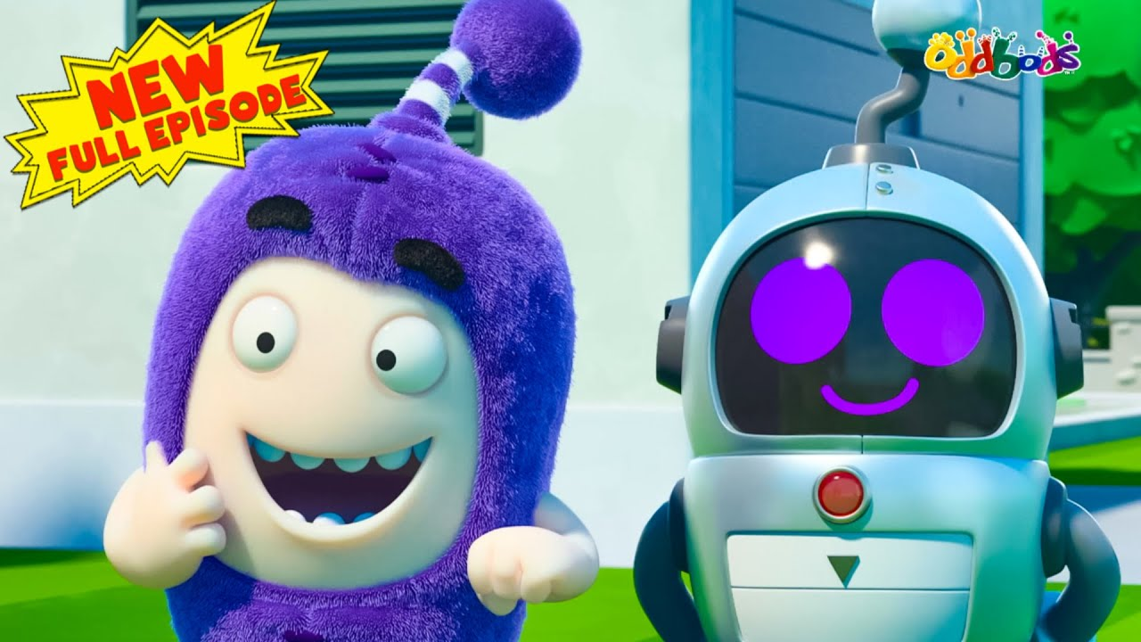 Oddbods | NEW | ROBO HELPER  | Funny Cartoons For Kids