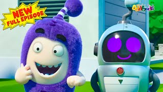 Download Oddbods | NEW | ROBO HELPER  | Funny Cartoons For Kids Mp3 and Videos