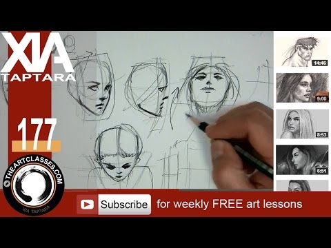 how-to-draw-head-in-different-angles-or-directions-(part-2-of-3)