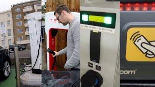 Charging Networks I use (UK)