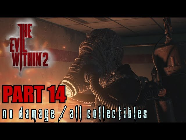 The Evil Within 2 Walkthrough Part 14 - Reconnecting No Damage / All Collectibles