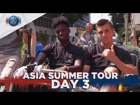 ASIA SUMMER TOUR : DAY 3 (UK)