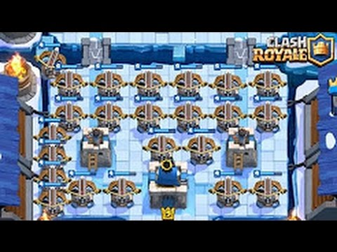 Clash royale meilleur deck arc x du jeu monter en for Clash royale deck arc x