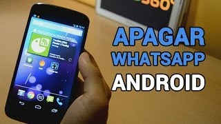 Cómo Apagar Whatsapp en Android | Tutorial