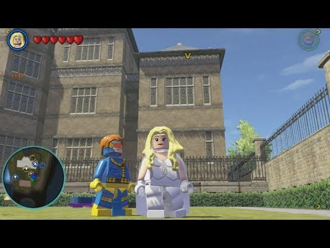 LEGO Marvel Superheroes - Emma Frost Gameplay and Location ...