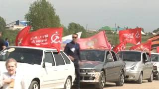 В Россоши прошёл четвёртый автопробег посвящённый Дню Победы