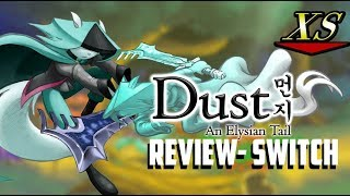 Dust An Elysian Tale Review- Nintendo Switch
