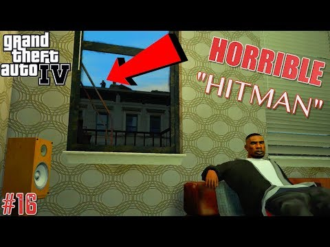 "FUNNY ""GTA 4"" STORYMODE GAMEPLAY #16"