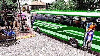 T.N.S.T.C  Bus on Ets2 village road|ETS2 V1.21 - 23.....
