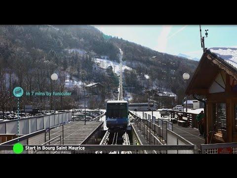 Bourg-Saint-Maurice - Les Arcs en 7 minutes  !