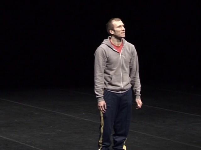 Jérôme Bel – Cédric Andrieux (2009) - extrait 2