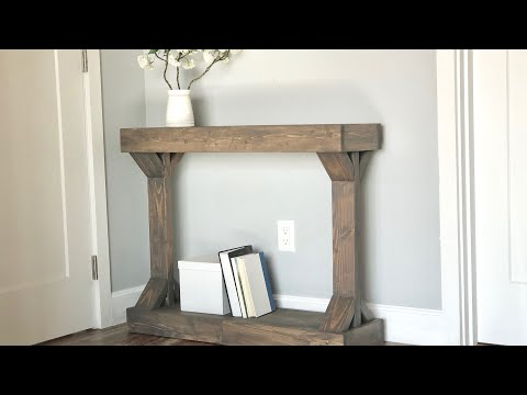 $30 Narrow Console Table [Modern Farmhouse Collection]