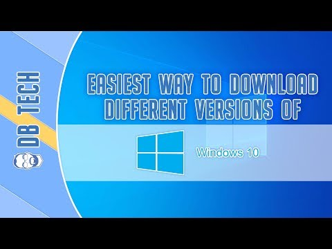 Easiest Way To Download Different/Older Versions of Windows