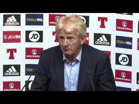 REACTION | Gordon Strachan's post Scotland v England press conference