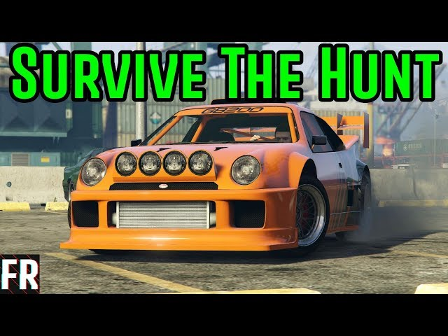 Gta 5 Challenge - Survive The Hunt #9