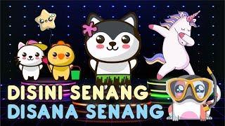 di sini senang di sana senang | lagu anak indonesia populer