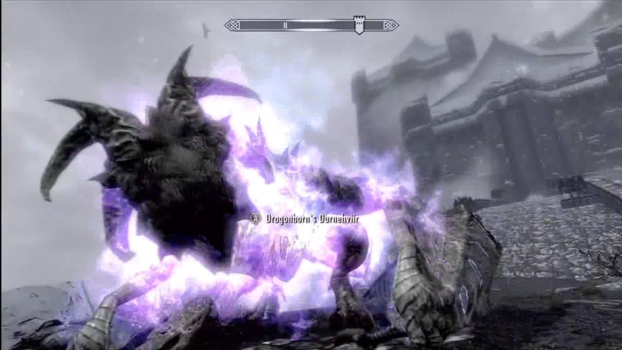 Summoning Durnehviir and Soul Tear shout