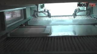 видео автоматическая окрасочная камера