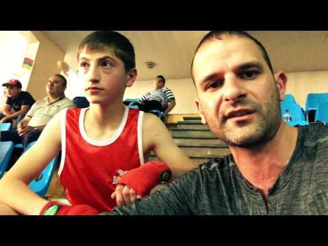 Бой Жоры на чемпионате Армении по боксу